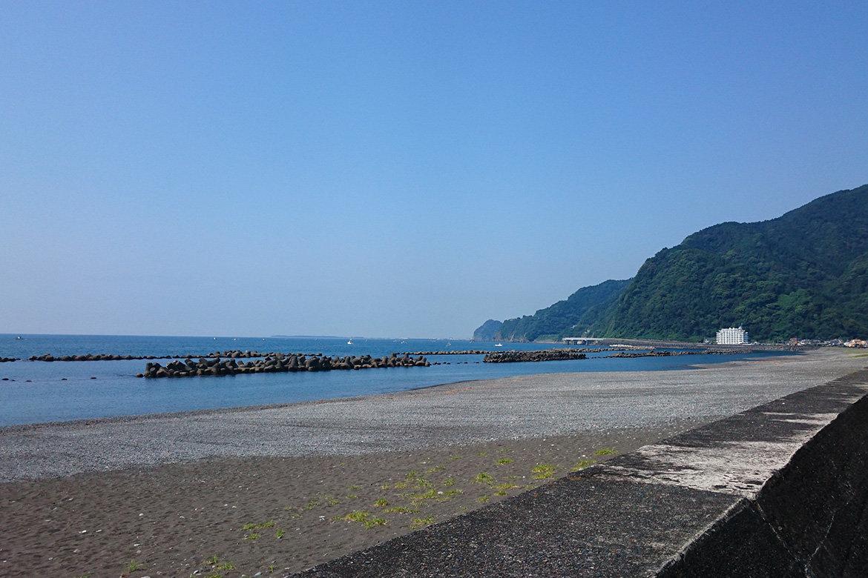 明日7月23日用宗海岸海水浴場海開き