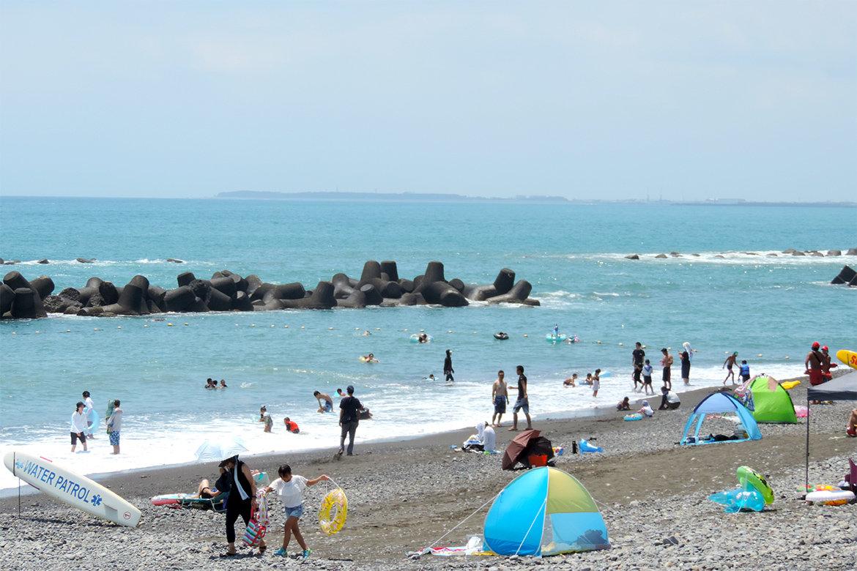 ついに解禁!用宗海岸海水浴場の海へ行こう!