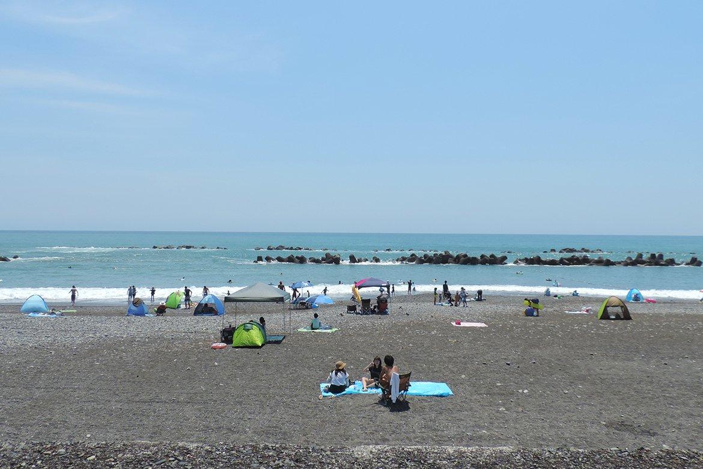 7月21日(日)から用宗海岸海水浴場海開き!