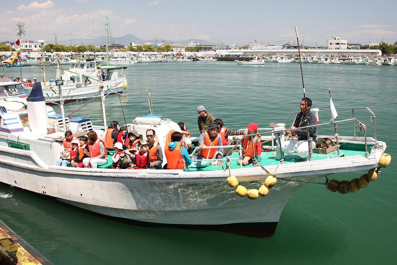 漁船の乗船体験
