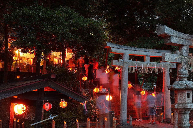 用宗祇園祭り